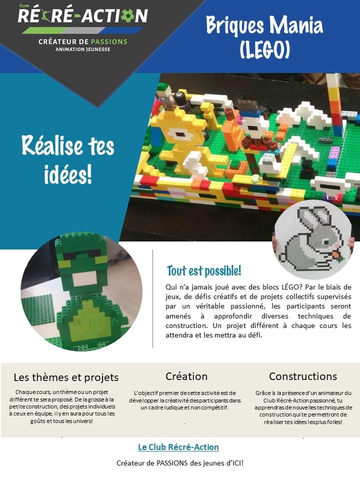 Briques Mania (Lego)